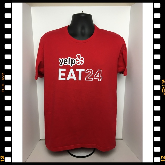 Next Level Apparel Other - T-Shirt~Yelp~Eat~24~Technology~
